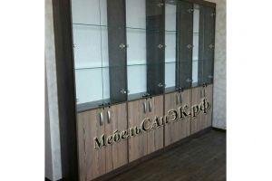 Шкаф-витрина модульный - Мебельная фабрика «САнЭК»