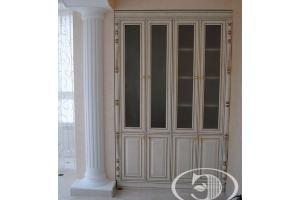 Шкаф-витрина распашной - Мебельная фабрика «Элмика»
