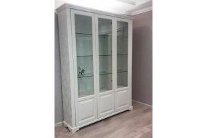 Шкаф-витрина трехстворчатый - Мебельная фабрика «Верба-Мебель»