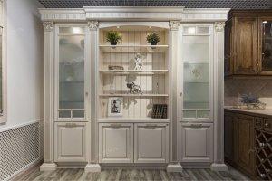Шкаф-витрина в гостиную - Мебельная фабрика «ARVA»