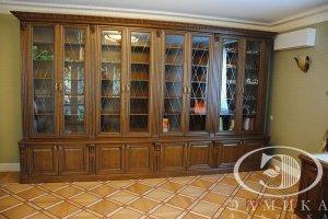 Шкаф-витрина в кабинет - Мебельная фабрика «Элмика»
