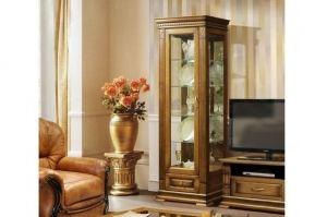 Шкаф-витрина Верди Люкс 1 - Мебельная фабрика «МЭБЕЛИ»