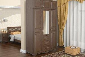 Шкаф Витязь 247 3-створчатый - Мебельная фабрика «ММК-ДРЕВ»