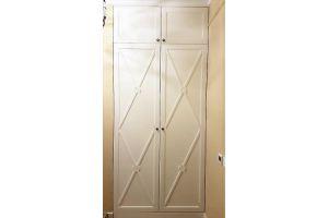 Шкаф встроенный распашной R008 - Мебельная фабрика «BLISS-HOME»