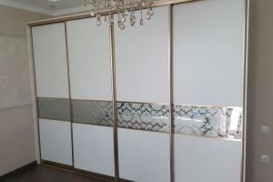 Шкаф-купе с декоративными вставками - Мебельная фабрика «БонусМебель»