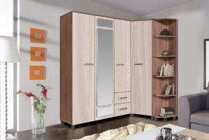Шкаф угловой серии Атлант - Мебельная фабрика «Олимп»