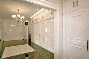 Шкая классический белый глянец - Мебельная фабрика «Мебель Продакшн»