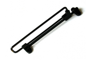 Штанга выдвижная черная Арт.3035 - Оптовый поставщик комплектующих «КБК»