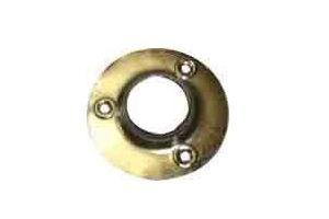 Штангодержатель металлический никель для трубы диаметром 25 - Оптовый поставщик комплектующих «Элмет»
