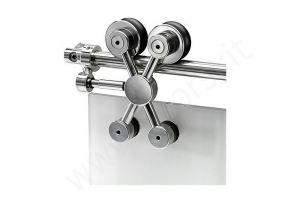 Система Exterus NS для стеклянных дверей - Оптовый поставщик комплектующих «Фаворито»