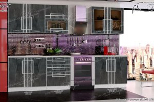 Кухонный гарнитур Сити-1 - Мебельная фабрика «Дара»