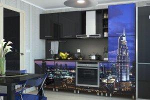Кухонный гарнитур Сити (2,6 м)  - Мебельная фабрика «Славные кухни (ИП Ларин В.Н.)»