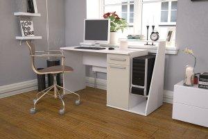Стол компьютерный СК ЛДСП 005 - Мебельная фабрика «МИКС»