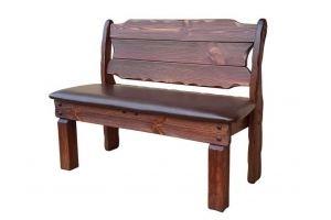 Скамья Добряк (кожа) - Мебельная фабрика «Кедр-М»
