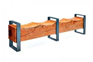 Скамья из слэба клена - Мебельная фабрика «Loft Z»