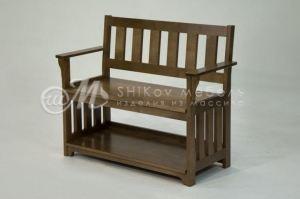 Скамья массив - Мебельная фабрика «ШиковМебель»
