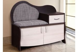 Скамья обувница ВА 012 6 - Мебельная фабрика «Мебель-класс»
