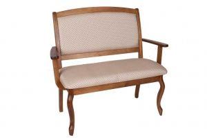 Скамья Ретро с подлокотниками - Мебельная фабрика «Багсан»