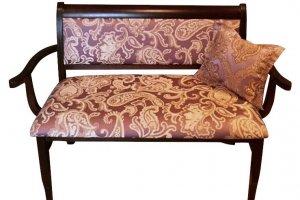 Скамья с подлокотниками - Мебельная фабрика «Мебель МАЙ»