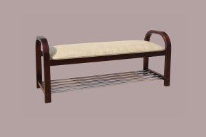 Скамья с рейлингами - Мебельная фабрика «СМ-Мебель»