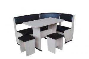 Скамья угловая Горизонт-1 - Мебельная фабрика «ГК Континент мебели»