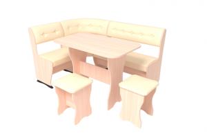 Скамья угловая Горизонт-1 ЛАЙТ - Мебельная фабрика «ГК Континент мебели»
