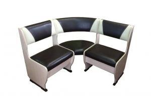 Скамья угловая Горизонт-1 Мини - Мебельная фабрика «ГК Континент мебели»