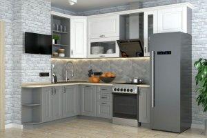 Кухня угловая Сканди 11 - Мебельная фабрика «Мебель Даром»