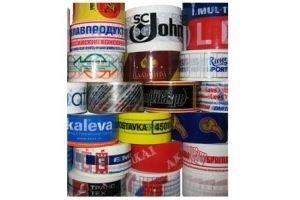 Скотч с логотипом - Оптовый поставщик комплектующих «Мир Упаковки»