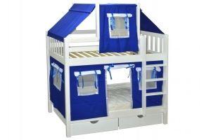 Кровать для детской Скворушка-1 двухъярусная - Мебельная фабрика «Мебель Холдинг»
