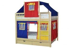 Кровать для детской Скворушка-2 двухъярусная - Мебельная фабрика «Мебель Холдинг»
