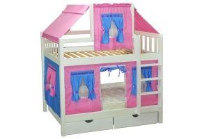 Кровать для детской Скворушка двухъярусная - Мебельная фабрика «Мебель Холдинг»
