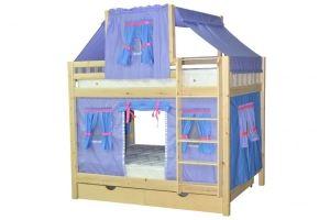 Кровать для детской Скворушка-3 двухъярусная - Мебельная фабрика «Мебель Холдинг»