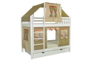 Кровать в детскую Скворушка-5 двухъярусная - Мебельная фабрика «Мебель Холдинг»