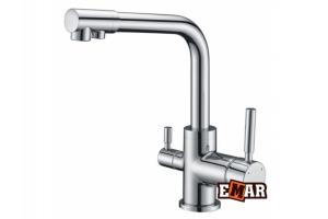 Смеситель кухонный EMAR 3007 - Оптовый поставщик комплектующих «Емар»