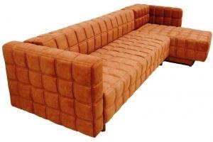 Софа Квадро с оттоманкой - Мебельная фабрика «Каравелла»