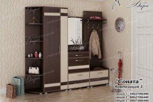Прихожая Соната-3 - Мебельная фабрика «Дара»
