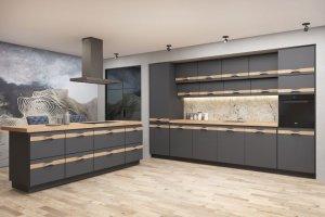 Матовая кухня Sorrento Color - Мебельная фабрика «Энгельсская (Эмфа)»