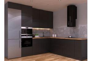 Кухня с пластиковыми фасадами 2019 - Мебельная фабрика «ПИЛИГРИМ»