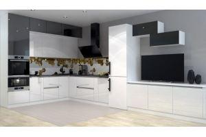 Кухня с фасадами пластик 2 - Мебельная фабрика «ПИЛИГРИМ»