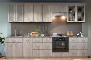 Прямая кухня с фасадами МДФ - Мебельная фабрика «ПИЛИГРИМ»
