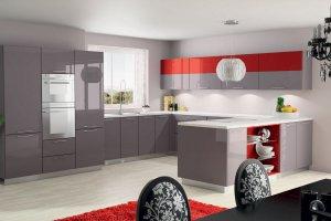 Современная большая кухня - Мебельная фабрика «Люкс-С»