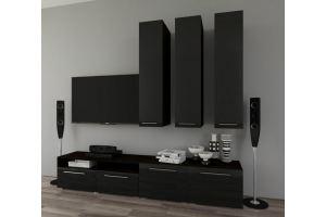 Современная черная гостиная - Мебельная фабрика «МЕБЕЛов»