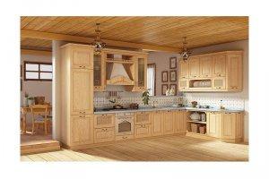 Современная деревянная кухня БРИДДА - Мебельная фабрика «КухниДар»