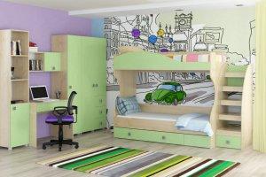 Современная детская Лайф - Мебельная фабрика «Интеди»