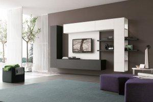 Современная гостиная - Мебельная фабрика «Новая мебель»