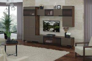 Современная гостиная Браун - Мебельная фабрика «МСТ. Мебель»