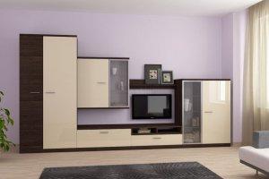 Современная гостиная Домино - Мебельная фабрика «Континент-мебель»