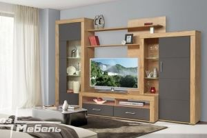 Современная гостиная Корсика 2 - Мебельная фабрика «Союз-мебель»