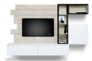 Современная гостиная ЛДСП CITY 602.24 - Мебельная фабрика «Феникс»